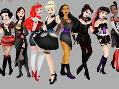 Which punk disney princess are you?? feel free to comment what you got but please no hating in the comments, no one wants to read anything mean or judgmental, thanks!