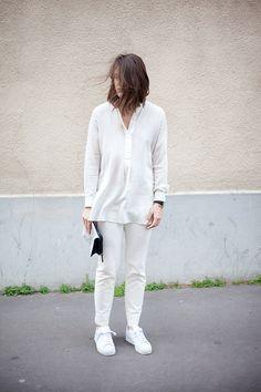 White out | Girl a la Mode