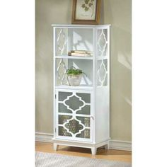 Casablanca Wood Storage Cabinet