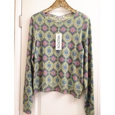 •WILDFOX• Printed Baggy Beach Jumper New with tags Wildfox Tops Sweatshirts & Hoodies
