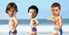 SPNG Tags: Sam / Dean / Cas / Photoshop / WTF? / Dancing / Funny / or disturbing Looking for a particular Supernatural reaction gif? This bl...