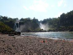 Argentinian site of the waterfalls - Puerto Iguazú - Argentina