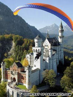 paragliding in Germany