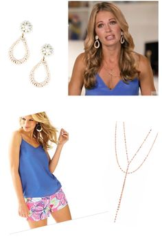 Cameran Eubanks' Blue Season 4 Southern Charm Tank Top Lilly Pulitzer http://www.bigblondehair.com/reality-tv/cameran-eubanks-blue-interview-tank-top/