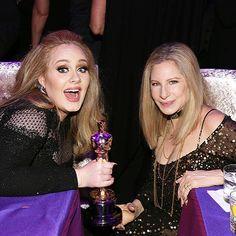 Adele & Barbra Streisand
