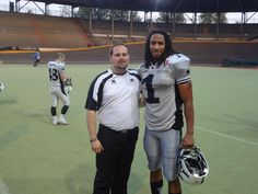 Dr. Mark snaps a picture with one of the Pro Receivers after doing some #FITPosture Exercises