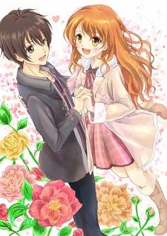 Tags: Anime, Pixiv Id 3066798, Golden Time, Kaga Kouko, Tada Banri