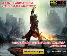 MAAC Animation Institute is a premier education brand of Aptech; providing the best animation, Autodesk Maya, Adobe, Graphic and Web designing courses in Pune Animation Institute, Art Courses, 3d Animation, Game Design, Game Art, Maya, Fields, Gaming, Let It Be