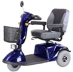 CTM  HS730  Full Size Heavy Duty Road Class Scooter  3Wheel  Blue * This is an Amazon Associate's Pin. View the item in details on Amazon website by clicking the image