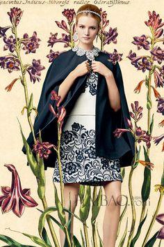 【图】西西里的童话梦境!杜嘉班纳 (Dolce&Gabbana) 2014春夏Fairy Tale Lookbook_Dolce&Gabbana