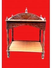 Wood Carving Palki Sahib - Medium Size - For Guru Granth Sahib Ji