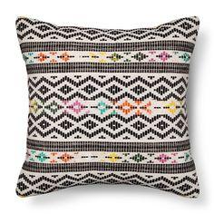 Global Throw Pillow Black/Multi - – Threshold™