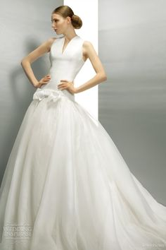 jesus peiro wedding dress @ http://weddinginspirasi.com/2011/09/01/jesus-peiro-wedding-dresses-2012/