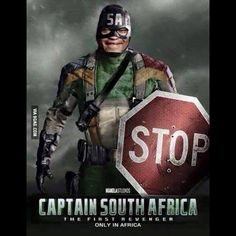 Captain South Africa - Enjoy the Shit South Africans… African Jokes, South Afrika, Life Falling Apart, Failed Relationship, Love Spells, Cute Images, Best Funny Pictures, Funny Pics, Captain America