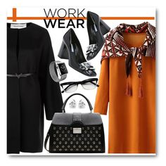 """Work Wear"" by brendariley-1 ❤ liked on Polyvore featuring Valentino, RED Valentino, Prada, Georgini, Corinne McCormack, women's clothing, women, female, woman and misses"