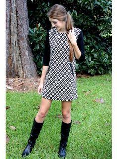 Sutton Shift Dress