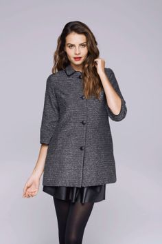 ladylike coat from Lauren Conrad's Paper Crown line