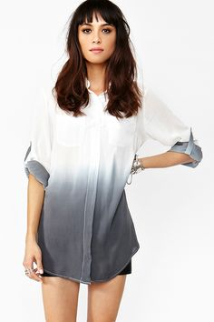 Dark Shadow Blouse. Ombre hair would be nice, but I think I might enjoy it more if my clothes were ombre as well.