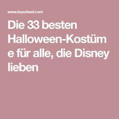 Die 33 besten Halloween-Kostüme für alle, die Disney lieben