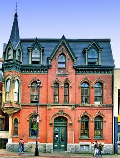 The Beautiful Architecture in Halifax, Nova Scotia