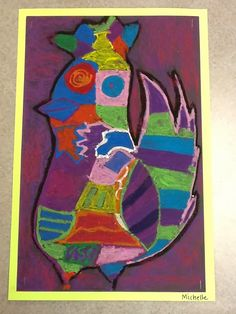 T he 5 th  grade students learned about the artist Pablo Picasso through a power point.   Picasso was born in Spain an...