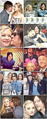 Norman Reedus and Emily Kinney TWD Normily - Beth and Daryl | The Walking Dead Bethyl pictures