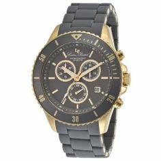Lucien Piccard Women's LP-93609-YG-104 Mocassino Analog Display Swiss Quartz Grey Watch