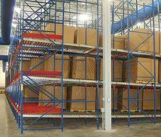 Twinlode: Pallet Flow Double & Single Pallet Storage Warehouse Pallet Racking, Pallet Storage, Flow