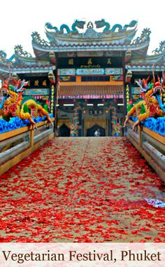 The Vegetarian Festival in Phuket Town, Thailand is not a meat-abhorring, food-loving, peppy celebration. This tradition is of a far different nature.