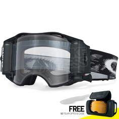 f042b14ef948 Oakley Airbrake MX Roll Off Goggles - Jet Black Speed