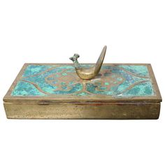 Brass Box by Pepe Mendoza | From a unique collection of antique and modern boxes at https://www.1stdibs.com/furniture/more-furniture-collectibles/boxes/