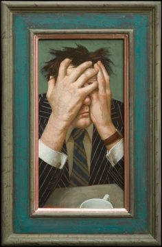 Artistic Delight: Kenne Gregoire: A Play of Perspective Art And Illustration, Land Art, Figure Painting, Painting & Drawing, Portrait Art, Portraits, Dutch Artists, Contemporary Paintings, Artsy