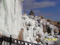 Cataratas congeladas