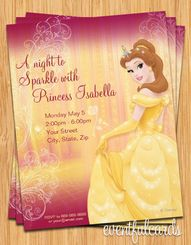 14 best our family adventures images on pinterest invitations belle birthday party invitation free filmwisefo