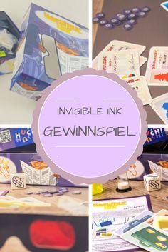Mach mit beim Invisible Ink Gewinnspiel und gewinne eine Ausgabe des Agenten Ratespiels!  Viel Glück :)