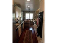 remodeled kitchen in double wide manufactured home