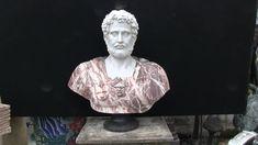 Italian Marble Bust Roman Emperor Hadrian - Canonbury Antiques Marble Bust, Roman Emperor, Italian Marble, Architecture, Antiques, Art, Landscapes, Arquitetura, Antiquities