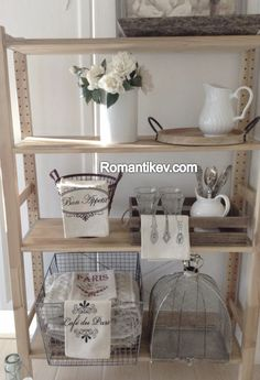 Romantik ev country raf Romantikevim Romantik dekorasyon Romantik ev blog Romantik evim blog Vintage dekorasyon Vintage evim