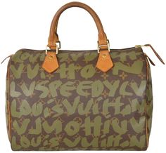 Louis Vuitton Monogram Stephen Sprouse Graffiti Speedy 30 Limited Edition M92194 Brown Satchel. Save 57% on the Louis Vuitton Monogram Stephen Sprouse Graffiti Speedy 30 Limited Edition M92194 Brown Satchel! This satchel is a top 10 member favorite on Tradesy. See how much you can save