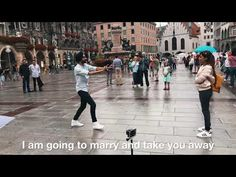 Proposal so beautiful. Hardy proposed to Sara dancing on bhangra. Wedding Proposal Videos, Romantic Proposal, Wedding Proposals, Munich Germany, Music Publishing, Love Story, Attitude, Dancing, Songs