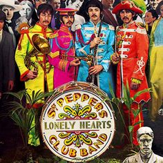 Readers Poll: The Best Album Covers of All Time Pictures -Sgt PEPPER.The only people still living from the cover are Paul McCartney, Ringo Starr, Dion DiMucci, and Bob Dylan. Les Beatles, Beatles Art, Cool Album Covers, Music Album Covers, Sanskrit, Classic Rock Albums, Beatles Sgt Pepper, Sea Wallpaper, The Frankenstein