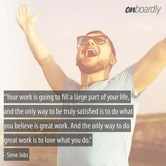 Love what you do! Startup Quotes, Steve Jobs, The Only Way, Monday Motivation, Believe, Photo And Video, Life, Instagram