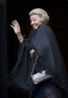 Queen Beatrix is 75 today.