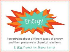 FREE Science lesson for middle schoolers--Energy and Chemical Reactions. Comes with embedded videos, student note sheet, teacher answer key, and lots of suggestions, tips, and notes for the teacher!