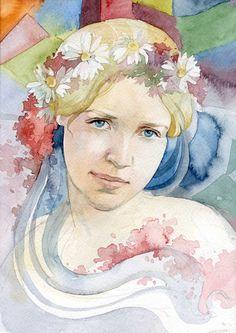 Polina Kukulieva   WATERCOLOR