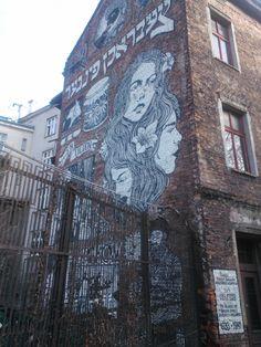 murales kazimierz Krakow