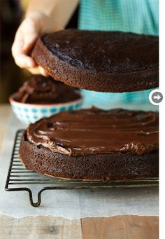 Better-than-boxed chocolate cake by Sarah Copeland • Photography by Sara Remington