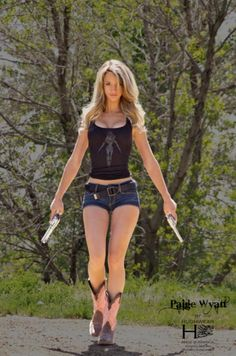 "Paige Wyatt – ""American Guns"" Photoshoot by Terry Gardner"