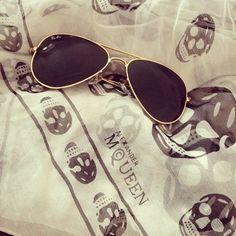 street style, fashion with RayBan sunglasses 2014 summer!