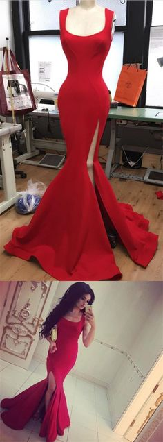 Long Red Jersey Prom Dress,elegant Formal Dress,slit Prom Dress,red Evening Gowns,prom Dress on Luulla Dresses Elegant, Elegant Bridesmaid Dresses, Formal Dresses, Pretty Dresses, Pageant Dresses For Teens, Homecoming Dresses, Prom Gowns, Red Evening Gowns, Festa Party